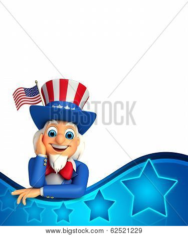 Uncle Sam is thinking