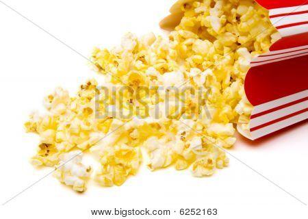 Spilled Popcorn