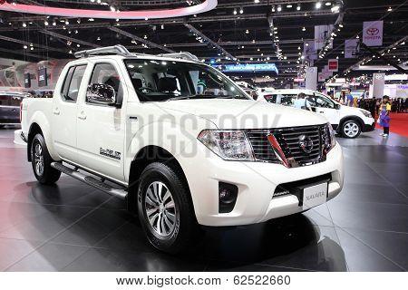 Nonthaburi - March 25: Nissan Navara Car On Display At The 35Th Bangkok International Motor Show On