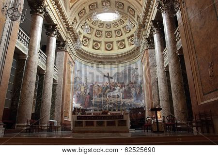 Santa Croce Cathedral In Forli, Italy