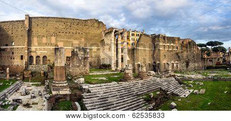 Augustus Forum In Rome, Italy
