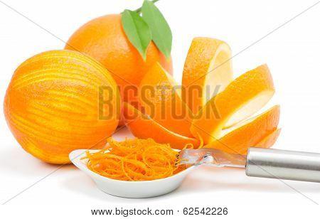 Orange Peel And Zest