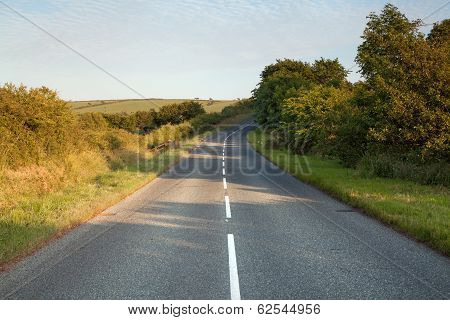Welsh Country Road