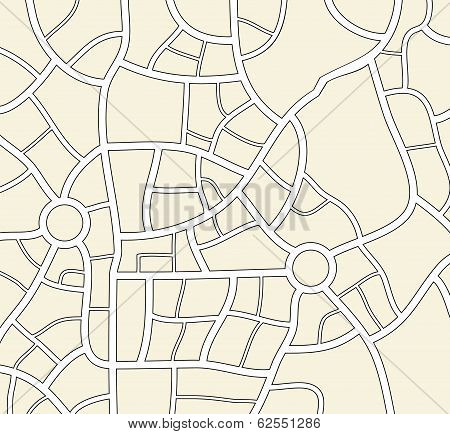 Vector City Map Background