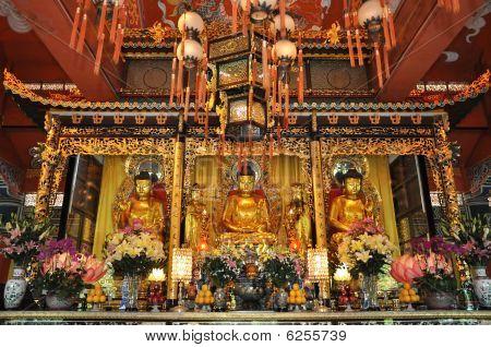 Beautiful Buddha Statue Worship