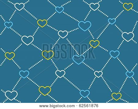 Heart Network Background