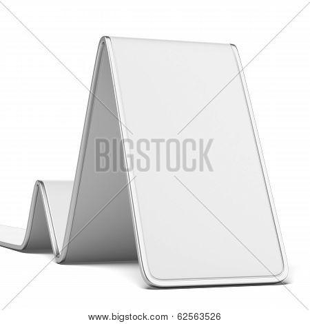 white blank banner