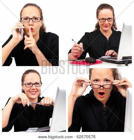 Businesswoman Collage