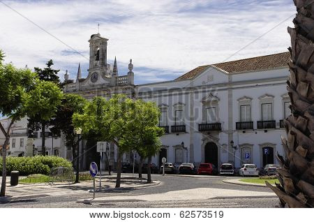 The Center City Of Faro, Algarve Capital, Portugal