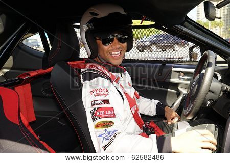 LONG BEACH - APR 1: Corbin Bleu at the 37th Annual Toyota Pro/Celebrity Race Practice Day on April 1, 2014 in Long Beach, California