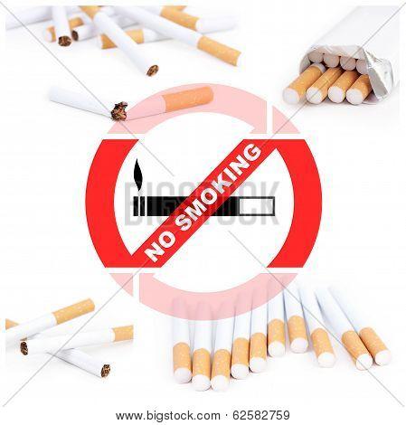 No Smoking Collage