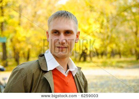 junger Mann portrait