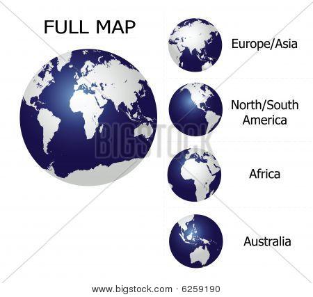 Globe Contenent