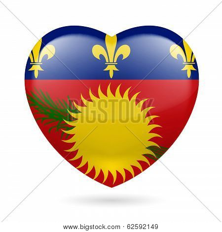 Heart icon of Guadeloupe
