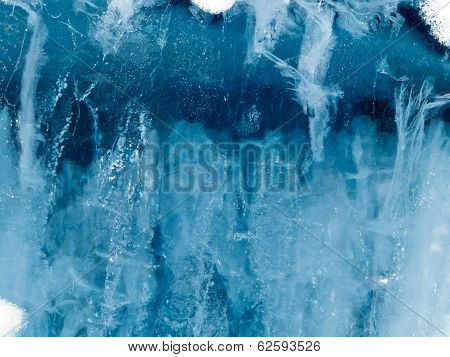 Water Ice Surface Nature Background Texture