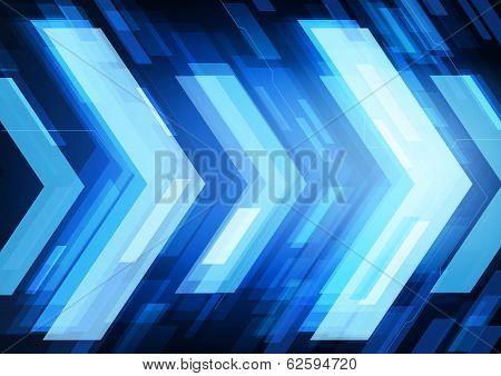 abstract technology arrows