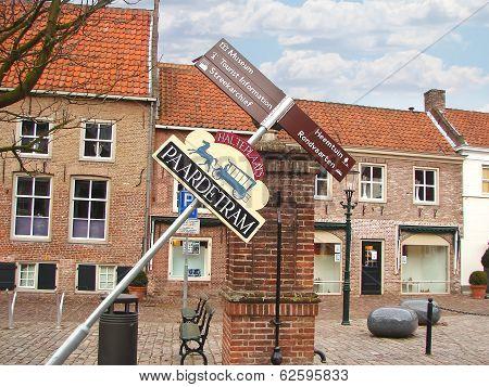 In The Dutch Town Of Heusden . Netherlands