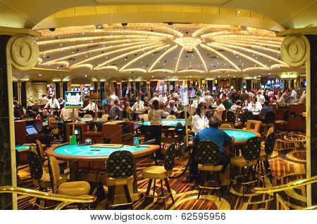 Casino In Caesar's Palace In Las Vegas