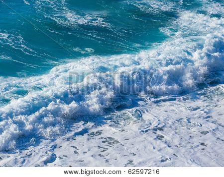 Agios Nikitas beach on Lefkas island in Greece