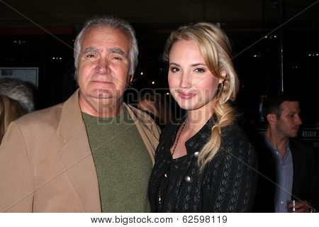 LOS ANGELES - APR 1:  John McCook, Molly McCook at the