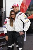 LONG BEACH - APR 1: Vanessa Marcil, Colin Egglesfield at the 37th Annual Toyota Pro/Celebrity Race P