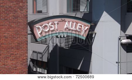 Post Alley Seattle, WA