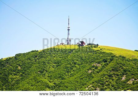Mountain With A Tower