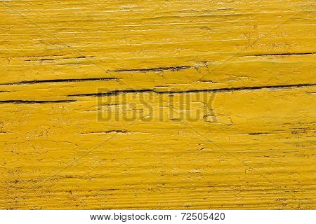 Yellow Wooden Shield
