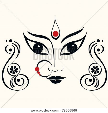 Durga illustration