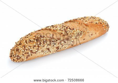 Freshly Baked Multigrain Bread And Wheat