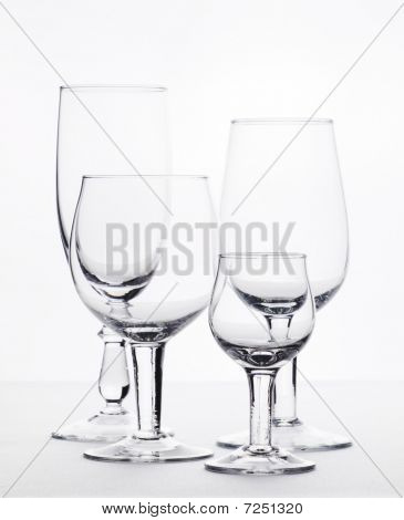 Few Empty Glasses Are For Swizzles