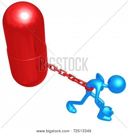 Chained To Giant Pill