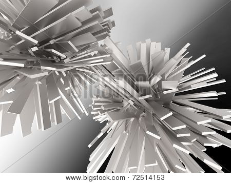 Crystal Abstract Background