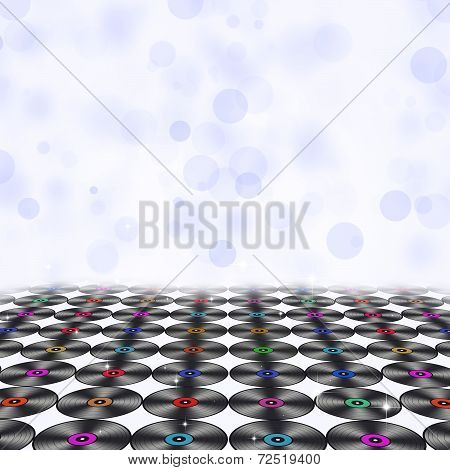 Music Vinyls Floor