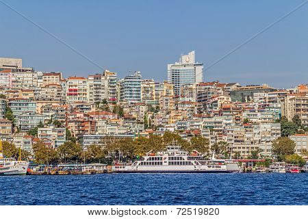 Istanbul Ortakoy district