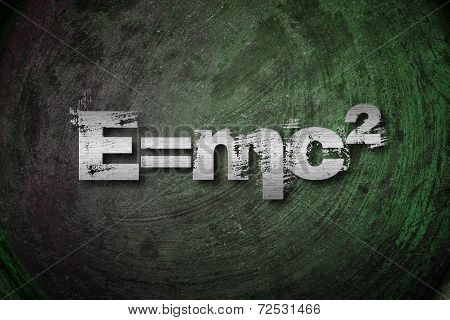 Albert Einsteins Physical Formula Concept