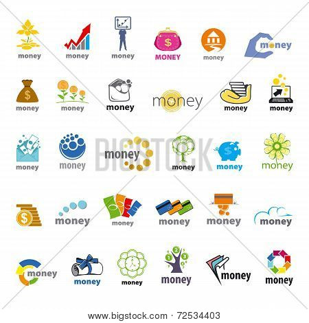 Large Collection Of Vector Icons Money, Finance