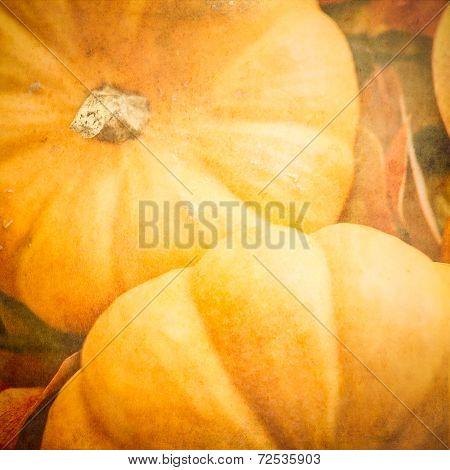 Pumpkins With A Textured Effect
