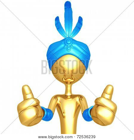 Djinn Two Thumbs Up