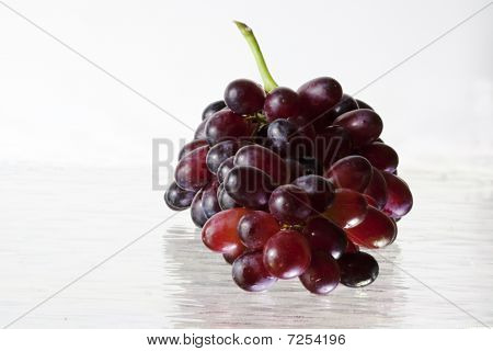Plum Colored Grapes