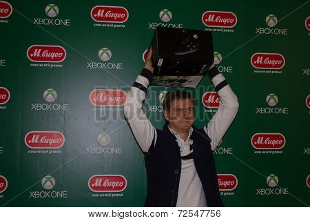 First Buyer Xbox One In Russia