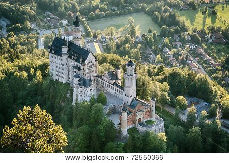 Neuschwanstein Castle - South-east View