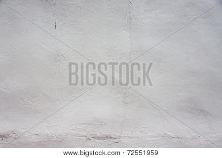 White Paint Concrete Wall