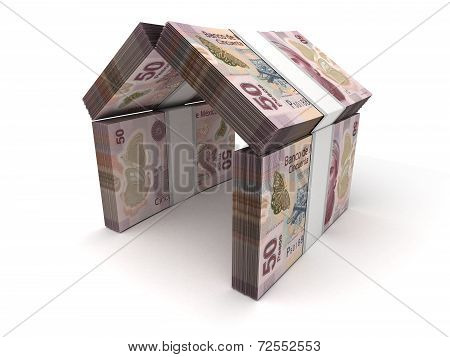 Real Estate Concept Mexican Pesos