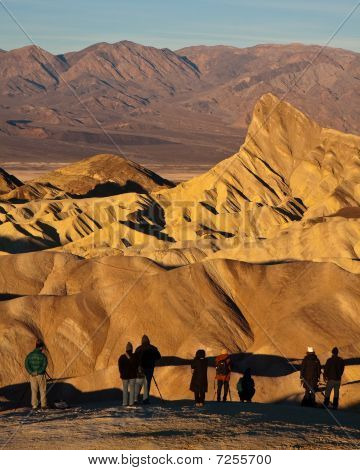 Tourists in Death Valley
