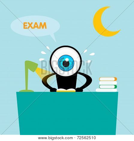 The Blue Eye Reading Book For Exam