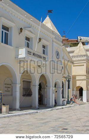 Zakynthos - may 14: Solomos Museum of Zakynthos, may 14, 2013 in Zakynthos, Greece