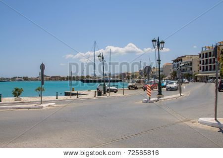 The port of Zakynthos town