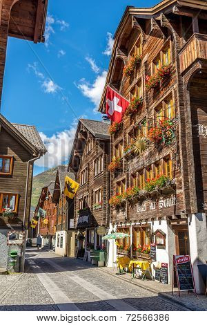 In The Streets Of Andermatt