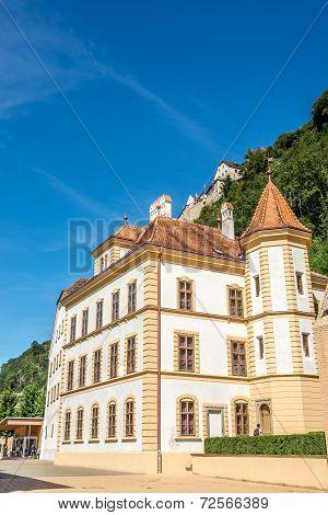Government Building Of Liechtenstein